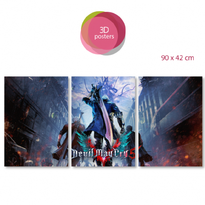 Devil May Cry 3D posters
