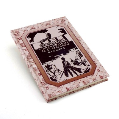 Attack on Titan notebook