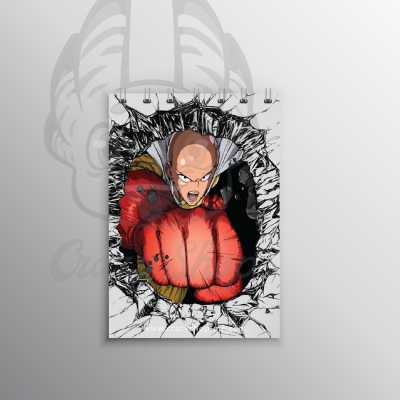 One Punch Man small notebook