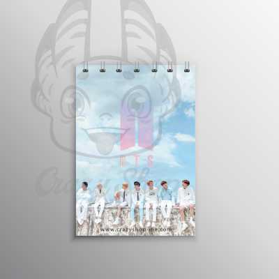 Bts small notebook